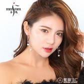 耳墜金魅耳墜 新款耳環韓國版氣質長款耳飾s925銀耳針氣質裝飾品 電購3C