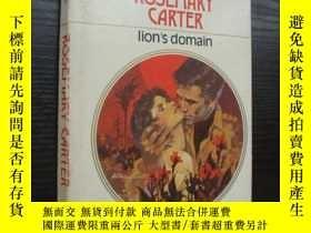 二手書博民逛書店Lion s罕見domain 情愛小說Y85718 ROSEMA