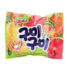 韓國 LOTTE樂天綜合QQ糖(柑橘)61g【庫奇小舖】