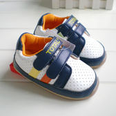 藍色橘黃條 軟膠底學步鞋.童鞋.室內鞋  0~24M  橘魔法 Baby magic現貨 嬰兒 兒童 小童 男女童