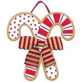 聖誕節 裝飾 佈置 立體吊飾1入-拐杖糖