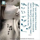 環保 時尚 個性 紋身貼 一次性 防水 紋身 貼紙 男女款 小清新 刺青