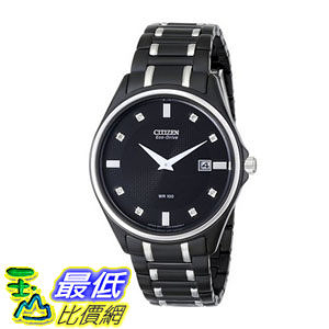[104美國直購] 手錶  Citizen Men s AU1054-54G Eco-Drive Stainless Steel and Diamond-Accented Watch$11224