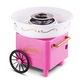 粉色推車款家用兒童棉花糖機家用棉花糖機器兒童節禮物【618店長推薦】