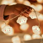 裝飾燈彩燈閃燈串燈星星燈春節過年少女心寢室房間布置wy【快速出貨八折優惠】
