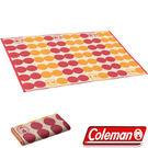 Coleman CM-26876-點點紅 露營野餐戶外地毯/130 日本製 公司貨