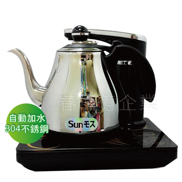 日式茶藝時尚師AI智慧型全自動補水泡茶機678AI (1台)自動加水機 給水器 304不鏽鋼泡茶壺 快速壺
