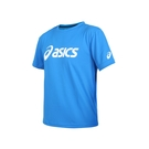 ASICS 男女運動排汗T恤(免運 台灣製 慢跑 路跑 短袖 上衣 亞瑟士≡體院≡ K31415-43