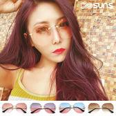復古明星款 獨家新品漸層多邊形無框太陽眼鏡 墨鏡 漸層墨鏡 抗紫外線UV400