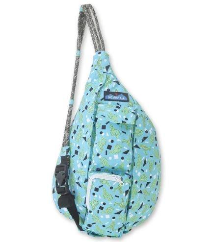 [好也戶外]KAVU Mini Rope Bag 休閒肩背包(棉布款) 五彩仙人掌/酷冷火鶴 NO.9150-1181/1182