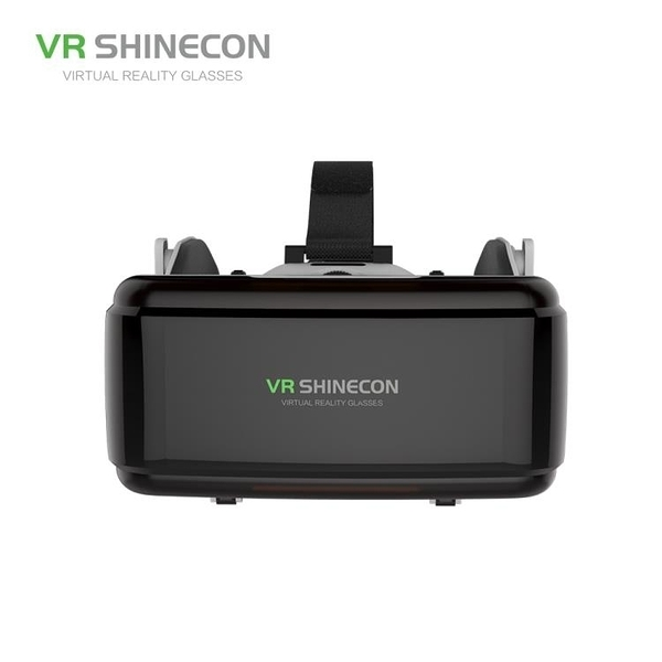 VR眼鏡 千幻魔鏡10代VR眼鏡耳機款 3D4頭盔手機專用游戲電影 果果生活館