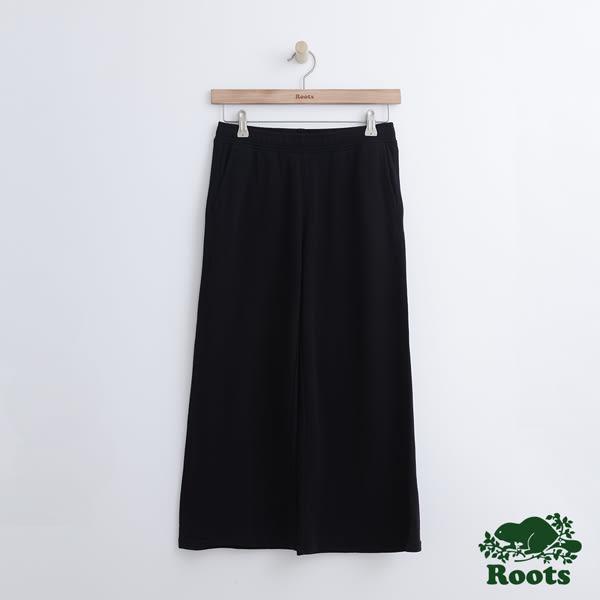Roots 女裝 - 瑪貝爾湖畔寬版棉褲 - 黑色