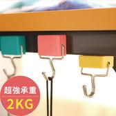 文具 日式創意超強吸力磁鐵掛勾(承重2KG) 免釘 【PMG246】123ok