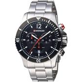瑞士WENGER Seaforce海勢系列 征服怒海潛水腕錶 01.0643.109