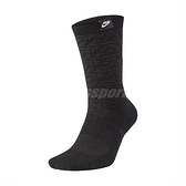 Nike 襪子 Giannis Elite Crew 黑 男女款 字母哥 籃球 中筒襪 長襪 單雙入 【ACS】 CK6756-010