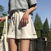 高腰顯瘦學生運動闊腿短褲女夏季百搭寬鬆休閒褲熱褲子 全館免運