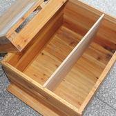 蜜蜂蜂箱中蜂杉木誘蜂桶浸蠟煮防水烘干十框格子養蜂箱蜂具   mandyc衣間