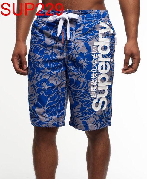 SUPERDRY SUPERDRY 極度乾燥 男 當季最新現貨 海灘褲 板褲 SUPERDRY SUP229