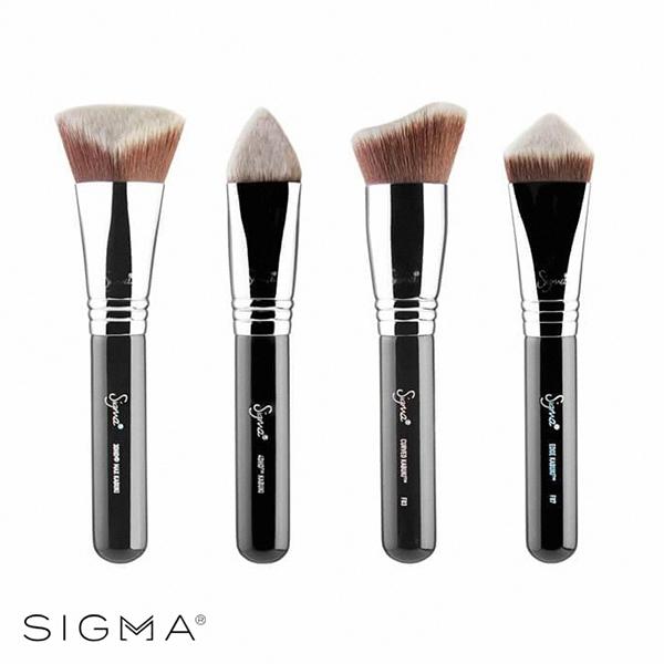 Sigma 立體底妝刷具四件組 Dimensional Brush Set - WBK SHOP