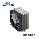(相容最新Intel X299 與AMD AM4 處理器平台) 全漢 FSP Windale 4 CPU 散熱器