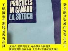 二手書博民逛書店RESTRICTIVE罕見TRADE PRACTICES IN CANADA(加拿大的限制性貿易慣例)Y232