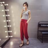 找到自己 G5 韓國時尚 百搭 修身 顯瘦 胸前 交叉綁帶 彈力 純色 內搭 小背心