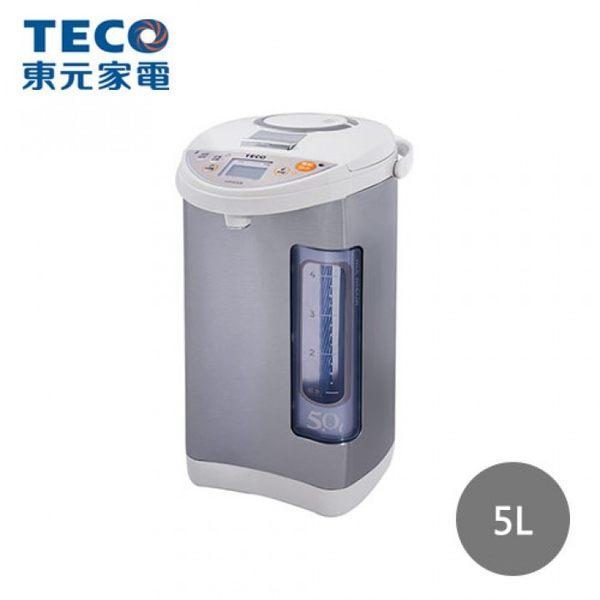 《福利品》*加碼贈Tefal搖搖杯*【TECO 東元】5公升 五段溫控熱水瓶(YD5003CB)