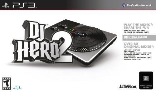 PS3 DJ Hero 2 Turntable Bundle DJ 英雄 2(美版代購)