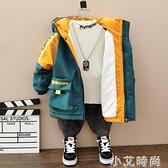 男童外套秋冬款2020新款兒童夾棉洋氣中小童寶寶春秋裝加絨加厚潮 小艾新品