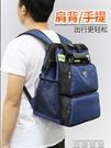 工具包法斯特男後背工具包背包多功能維修帆布大加厚耐磨便攜安裝電工包 晶彩
