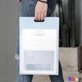 Bay 文件夾 風琴包 豎款 文件袋 A4 手提 多層 資料夾