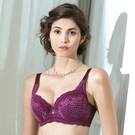 LADY 豹紋精靈系列 B-E罩內衣 ( 叢林紫 )