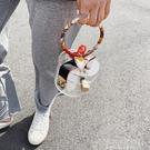 快速出貨 果凍同款包包女包新款潮時尚ins超火小包個性夏百搭手提包 【全館免運】