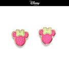 【迪士尼系列】水果系草莓米妮貼耳耳環~夏綠蒂didi-shop