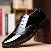 皮鞋—正裝男士皮鞋男尖頭夏季黑色男鞋英倫商務休閒鞋子爸爸皮鞋廚師鞋 korea時尚記