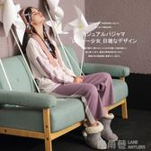 秋季睡衣女純棉長袖韓版寬鬆學生少女動漫二次元日系2018新款套裝 鹿角巷