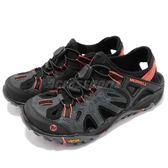 Merrell 戶外鞋 All Out Blaze Sieve 黑 橘 水陸鞋 涼拖鞋 女鞋【PUMP306】 ML12732