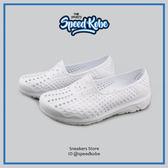 PONY 水鞋 Tropic 拖鞋 海灘鞋 防水 洞洞鞋 懶人鞋 全白 情侶款 男女 62U1SA61SW 【Speedkobe】