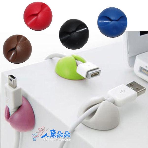 集線器 理線夾 USB插頭 桌面整理 多功能 收集 線固定 3C 手機 USB傳輸線 ☆米荻創意精品館