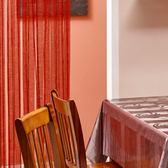 金格拉斯雙層雙色金蔥線簾 180x90x0.5cm 紅色款