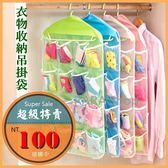 拉拉 多 吊掛式衣櫃衣物收納袋彩色輕巧分類收納省空間B00035
