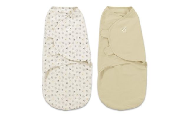 美國Summer Infant/SwaddleMe 懶人包巾 嬰兒包巾有機棉【L號】54260