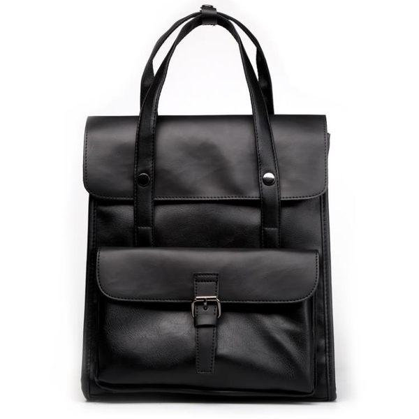 商務男士雙肩後背包時尚復古旅行背包筆電包《印象精品》r444