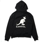 【一月大促折後$1499】KANGOL 帽T 長袖 LOGO 男女 黑色 6055106520
