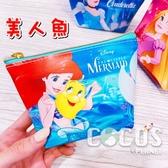 韓國大創限定迪士尼公主系列 公主零錢包 零錢包 收納包 美人魚款 COCOS KO200