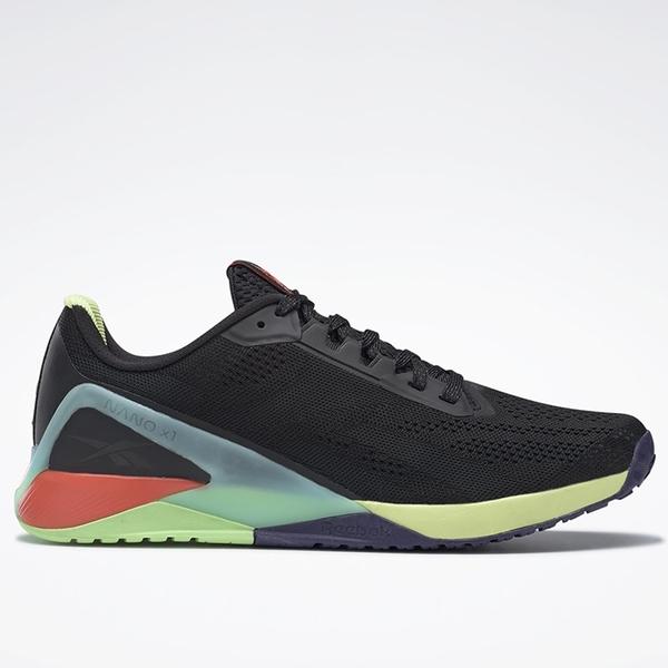 REEBOK NANO X1 男鞋 訓練 慢跑 健身 緩衝 抓地 耐磨 黑【運動世界】FX3241