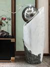 尺寸超過45公分請下宅配簡約現代創意輕奢大型落地擺件家居裝飾客廳流水噴泉玄關軟裝擺設