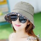 防曬帽子-女款抗紫外線UV亞麻棉高頂漁夫帽13SS-S015 FLYSPIN菲絲品