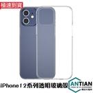鑽石級鋼化玻璃殼 iPhone 12 Pro Max 12Mini 手機殼 防摔殼 透明殼 矽膠軟邊 保護殼 保護套