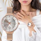 Max Max 優雅銀白設計時尚腕錶 32mm-禮盒組 MAS7027-2-SET 熱賣中!